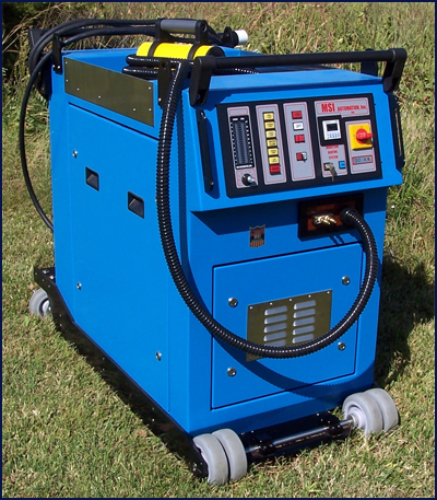 Mobile Induction Heater For Bolt Heating Msi Automation