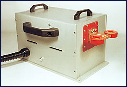 Shown with dual heating coils for heating of 2 parts at one time.