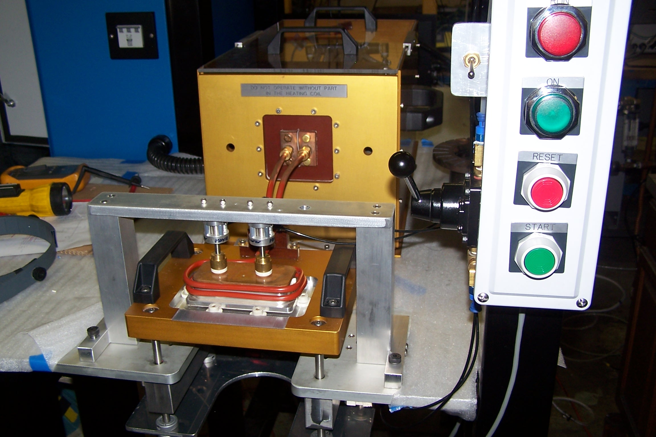 Induction Heating System - Semi Automatic